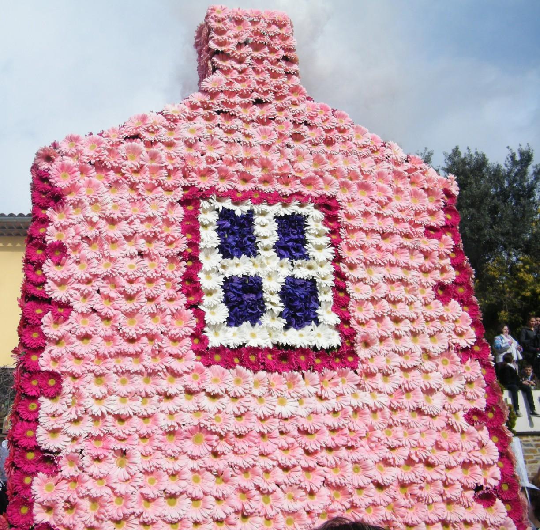 La maison rose du p cheur aux volets bleus vers le centre - Eugenie les bains la maison rose ...