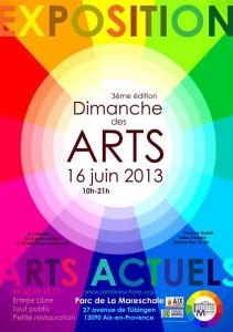 DIMANCHE DES ARTS 16.06.2013